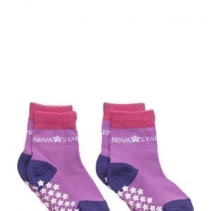 NOVA STAR Anti-Slip Purple Socks
