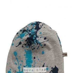 NOVA STAR Beanie Splash Blue