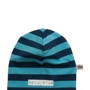 NOVA STAR Beanie Striped Blue