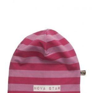 NOVA STAR Beanie Striped Pink