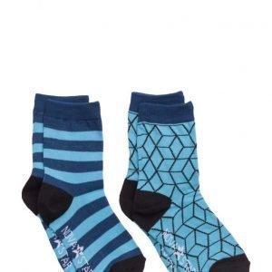 NOVA STAR Blue Cube Socks