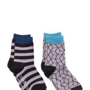NOVA STAR Grey Cube Socks