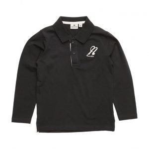NOVA STAR Polo Sweater Black