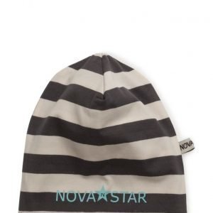 NOVA STAR Striped Beanie Ash