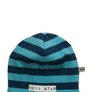 NOVA STAR W-Beanie Striped Blue