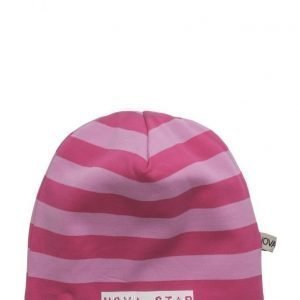 NOVA STAR W-Beanie Striped Pink