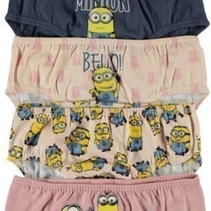 Name It Alushousut Minions 5-pack Vintage Indigo