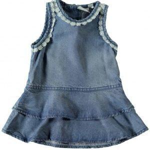 Name It Newborn Nitbischa Denim Dress Mekko