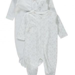 Name It Newborn Nitudo 2p Nightsuit Yöhaalarit 2 Kpl/Pkt