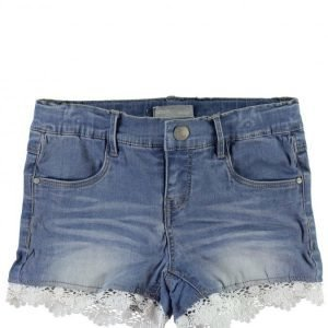 Name It Nitsirianna Kids Slim Denim Shorts Tyttöjen Farkkushortsit