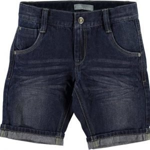Name it Farkkushortsit Ross Kids Dark Blue Denim