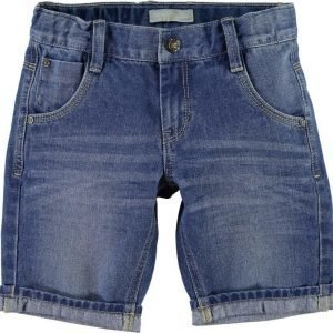 Name it Farkkushortsit Ross Kids Light Blue Denim