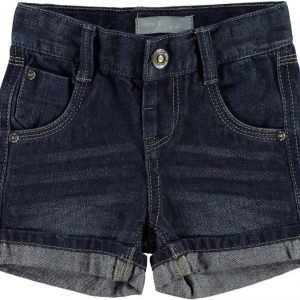 Name it Farkkushortsit Ross Mini Dark Blue Denim