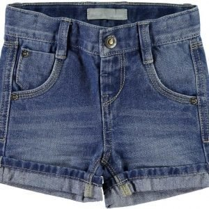 Name it Farkkushortsit Ross Mini Light Blue Denim