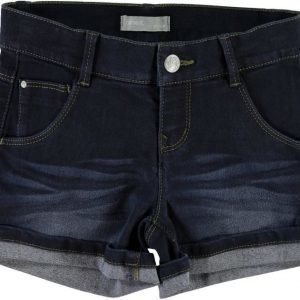 Name it Farkkushortsit Siri Kids Dark Blue Denim