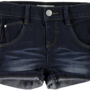 Name it Farkkushortsit Siri Mini Dark Blue Denim