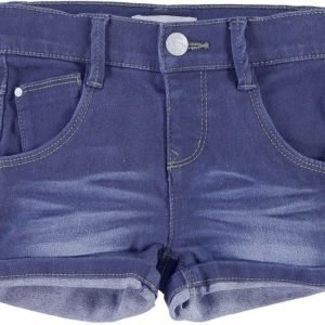 Name it Farkkushortsit Siri Mini Medium Blue Denim