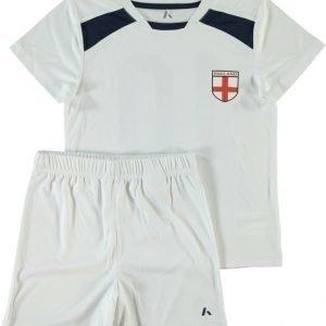 Name it Jalkapallosetti T-paita ja shortsit Englanti