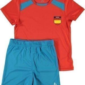 Name it Jalkapallosetti T-paita ja shortsit Espanja