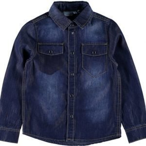 Name it Kauluspaita Can Medium Blue Denim