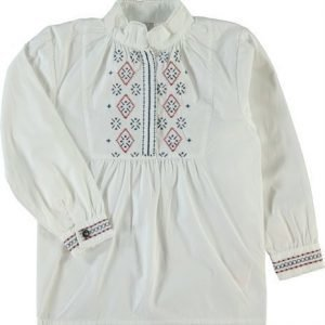 Name it Norjalainen kansallispuku - Bunad Pusero Terina Bright White