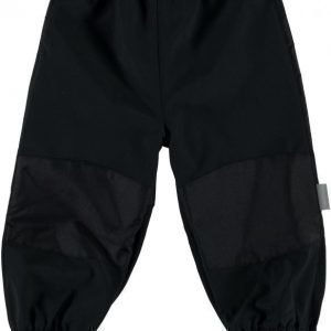 Name it Softshellhousut Alfa Mini Black