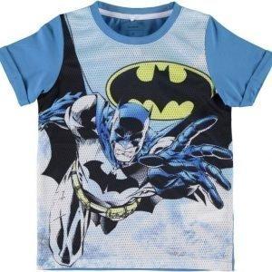 Name it T-paita Batman Kids Cendre Blue