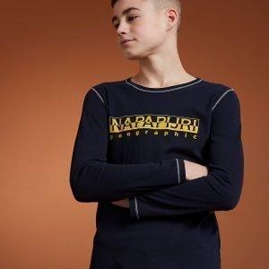 Napapijri Sion Long Sleeve T-Shirt Laivastonsininen