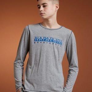 Napapijri Sion Long Sleeve T-Shirt Mrl / Mrl