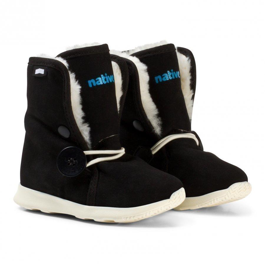 Native Black Luna Water Repellent Fleece Lined Boots Nilkkurit