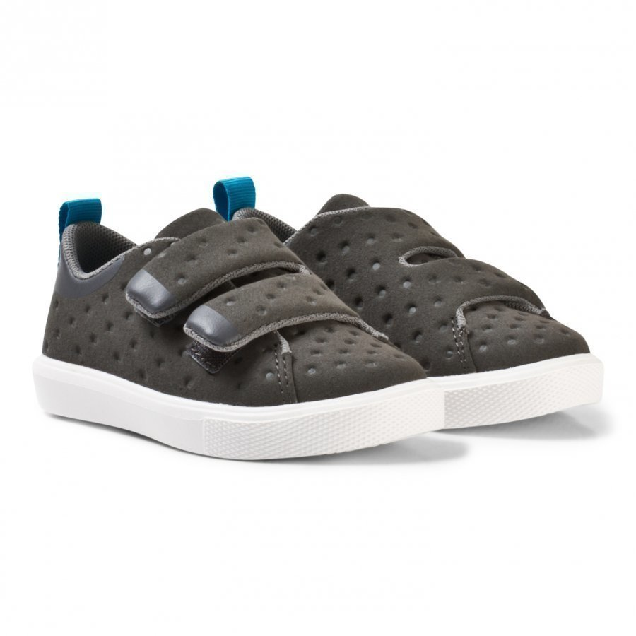 Native Grey Monaco Rubber Velcro Trainers Lenkkarit