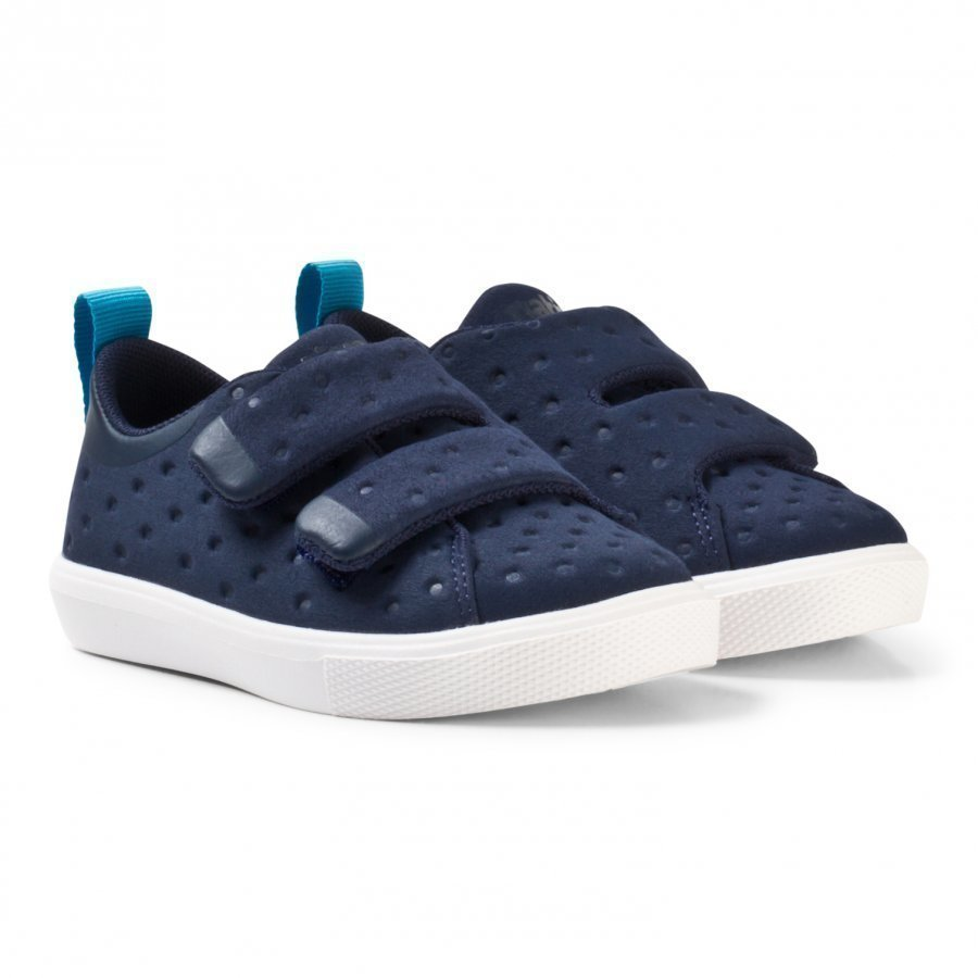 Native Navy Monaco Rubber Velcro Trainers Lenkkarit