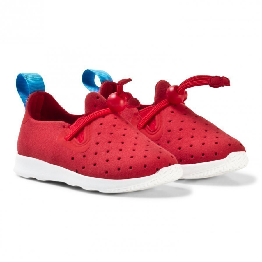 Native Red Apollo Moc Trainers Lenkkarit