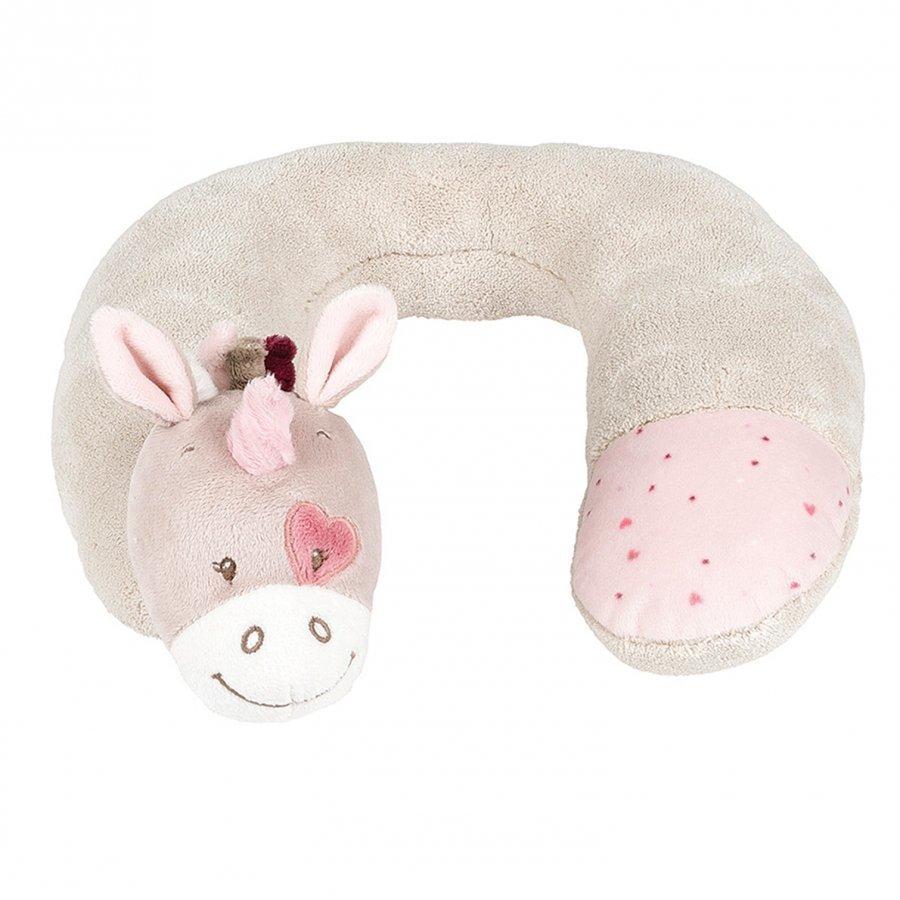 Nattou Jade The Unicorn Neck Pillow 3 Months Turvaistuimen Lisävaruste