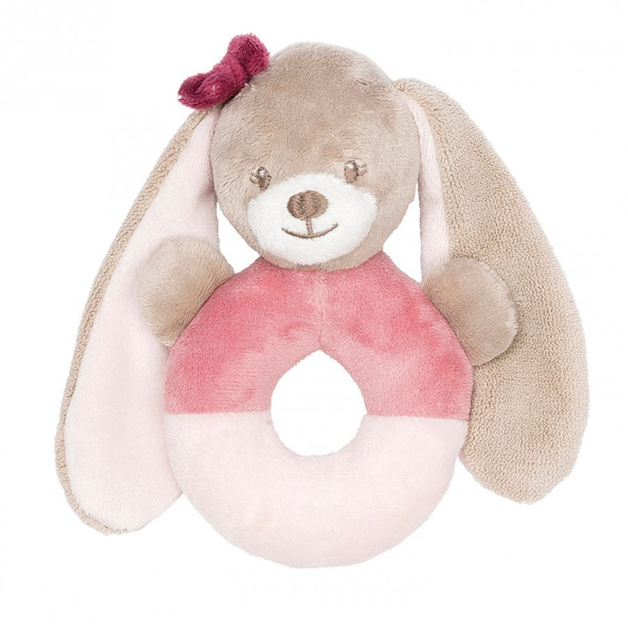 Nattou Ring Rattle Nina The Bunny Helistin