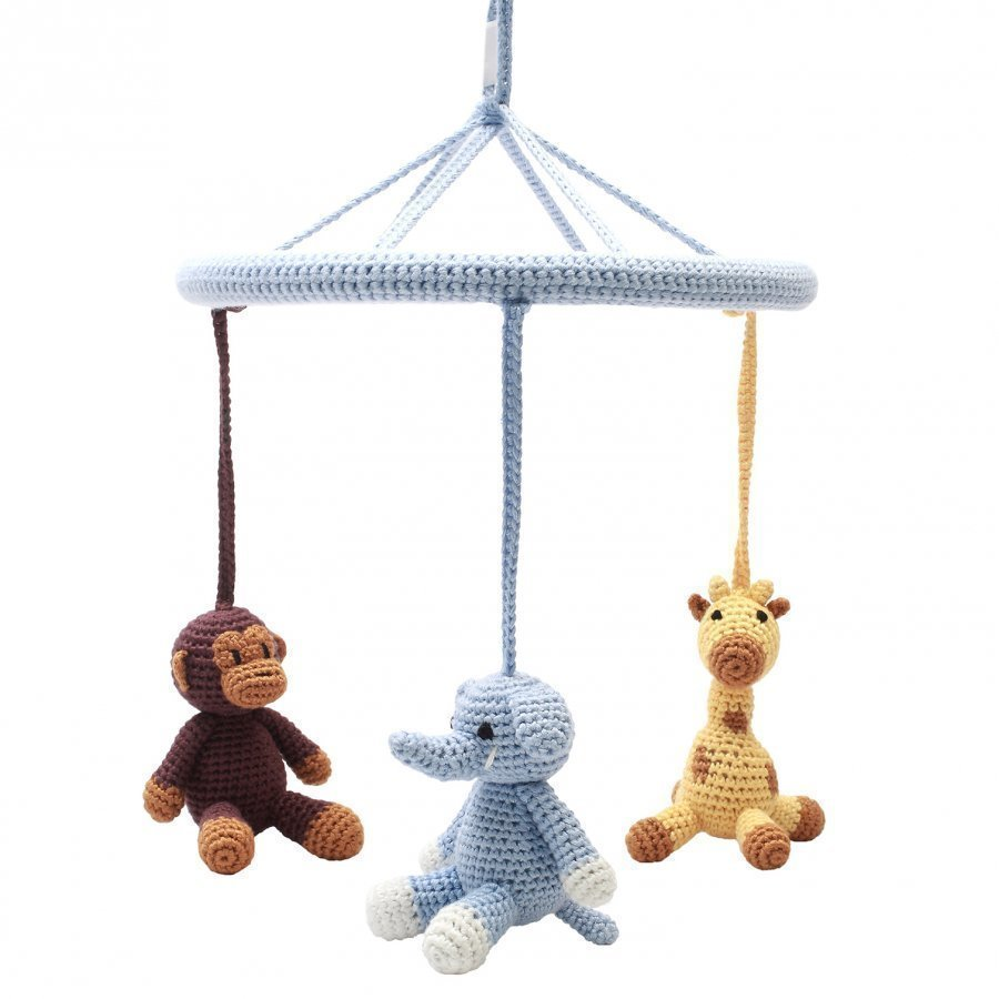 Naturezoo Circle Mobile Mr. Monkey Mr. Giraffe And Mr. Elephant Mobile