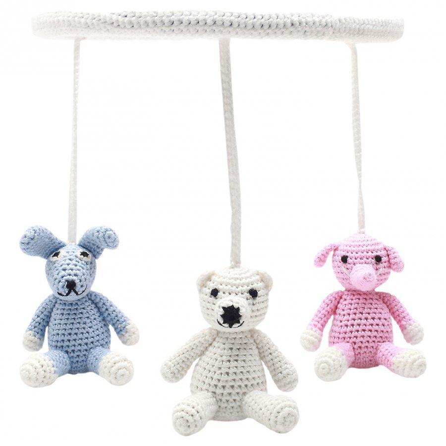 Naturezoo Circle Mobile Mrs. Rabbit Mr. Elephant And Sir. Polar Bear Mobile