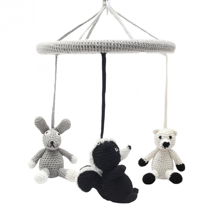 Naturezoo Circle Mobile Mrs. Rabbit Sir. Skunk And Sir. Polar Bear Mobile