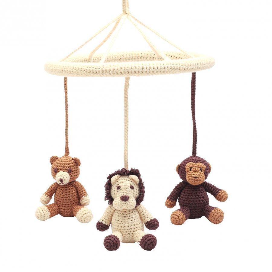 Naturezoo Mobile Teddy Lion Monkey Mobile