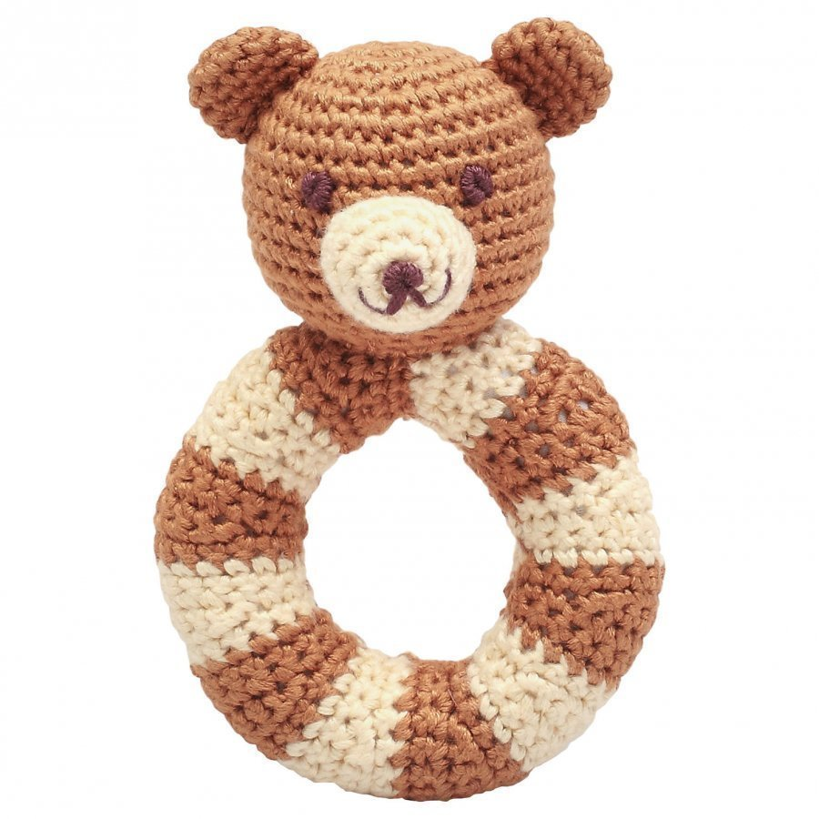 Naturezoo Mr. Teddy Ring Rattle Helistin