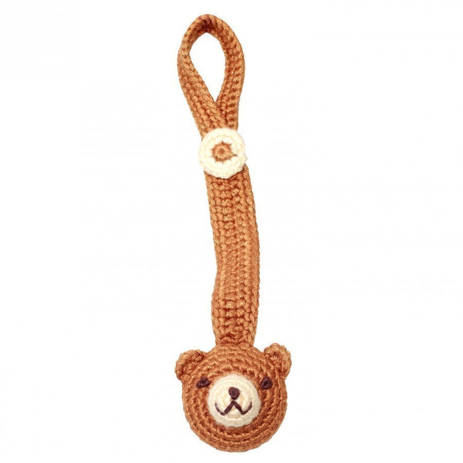 Naturezoo Pacifier Clip Teddy Tutti