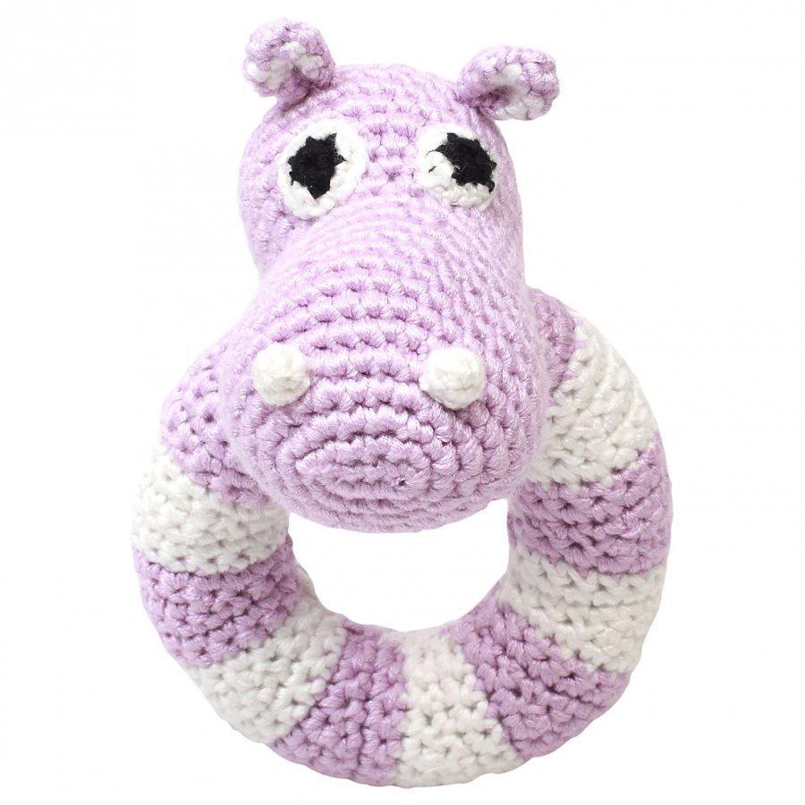 Naturezoo Round Rattle Lady Hippo Aktiviteettilelu