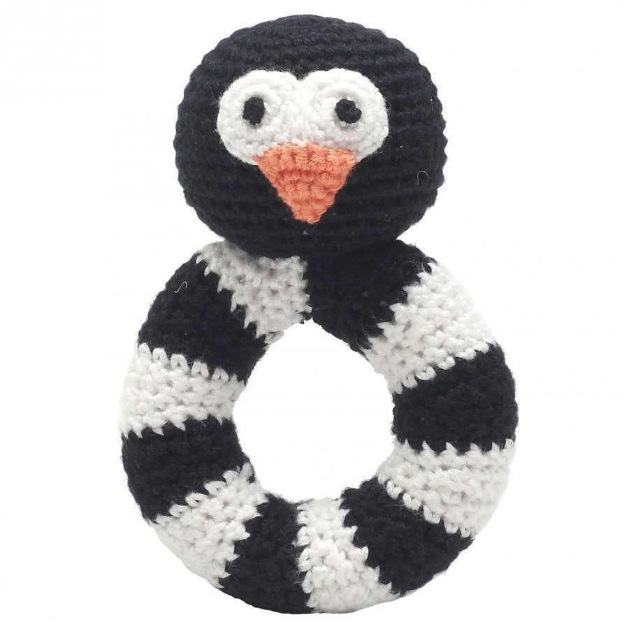 Naturezoo Sir Penguin Ring Rattle Helistin