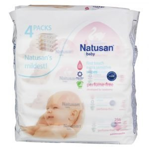 Natusan Baby Extra Sensitive Puhdistuspyyhe 4 X 64 Kpl