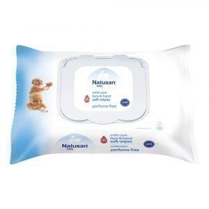 Natusan Baby Mild Care Puhdistuspyyhe 25 Kpl
