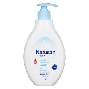 Natusan Baby Mild Care Top-To-Toe Pesuneste 400 Ml