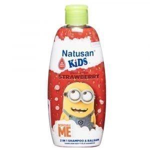 Natusan Kids Strawberry 2in1 Shampoo 200 Ml