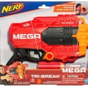 Nerf Guns Mega Tri Break Leikkiase