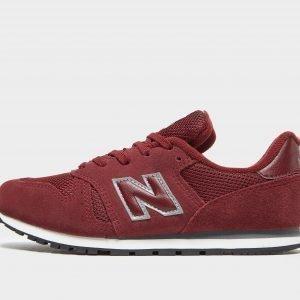New Balance 373 Burgundy / Silver