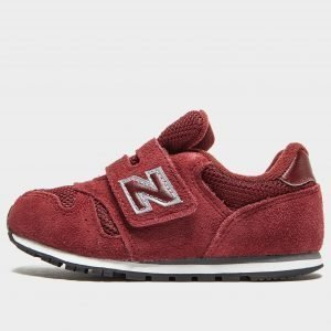 New Balance 373 Infant Burgundy / Silver